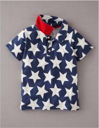 Wholesale 2014 NEW kids Little Maven boys t shirts boy STAR children polo t shirt short sleeve top tee B14603