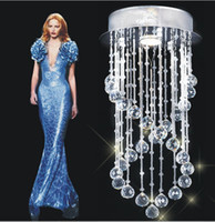 Wholesale Modern Crystal Chandelier Light Fixture Crystal Pendant Ceiling Lamp Factory Price
