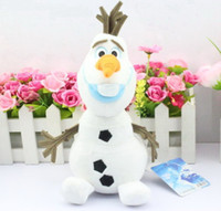 2014 New cartoon movie Frozen Lovely OLAF plush toys the Sno...