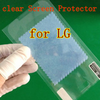 For LG Front  100 pcs lot LCD clear Screen Protector Film Cover Guard Scrub For LG G2 G3 Nexus 5 F240L G Flex Optimus G E960 Nexus 4 G Pro 2 Protective
