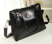Wholesale New Fashion Lady Women s Korean PU Leather Totes Bag Satchel Hobo Handbag