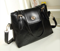 Wholesale New Fashion Lady Women s Korean PU Leather Totes Bag Satchel Hobo Handbag