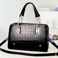 Wholesale 2014 hot selling fashion bags womens designer handbag crocodile bags shoulder bags for lady crocodile handbags clutch bags