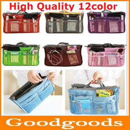 Wholesale 200pcs Upgraded version color Pouch thick double zipper cosmetic bag toiletry kits multifunction Cosmetic Pouch new SKU A003