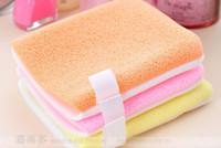 Wholesale Beauty seaweed wash sponge powder puff cake dual use gloves beauty cosmetic tools female