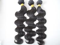 Brazilian Hair Body Wave  wholesale brazilian human virgin hair weaves natural black hair weftbody wave unprocessed 3 bundles one lot