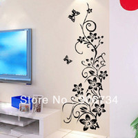 background patterns - Bedroom TV BackGround and Living Room Removable Wall Stickers Beautiful Pattern Design