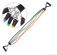 exercise stretch band - Yoga Exercise Resistance Band Stretch Fitness Tube Cable For Workout Yoga Muscle Tool