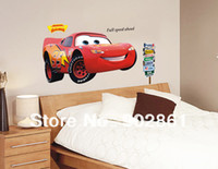 animal transportation - funlife Extra Large cartoon Pixar Cars boy room transportation peel n stick wall decals stickers
