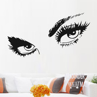 animal print wallpapers - vintage Audrey Hepburn eye large wall stickers family wall decal fashion label mural wallpaper posters and prints quote