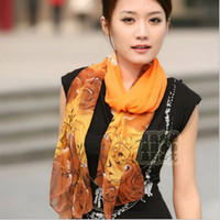 fabric silk georgette - spring an22014 new autumn period and the new female long chiffon scarf real silk Georgette scarves Silk Fabric scarf