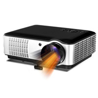 Wholesale New inch lumens x800 P D Video LCD Portable PC Film Cinema HDMI HDTV USB Video LED HD Projector