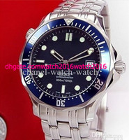 Limited Edition automatic - NEW BLUE DIAL SEA M PLANET OCEAN STAINLESS STEEL MENS AUTOMATIC MECHANICAL WATCH MEN S WRISTWATCH