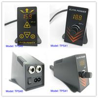 Wholesale ELFIN Digital Tattoo Power Supply For Machine Gun Kit Set Supply TPS40 amp TPS41