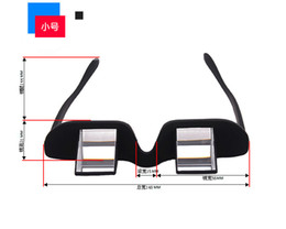 Wholesale The New lazy glasses horizontal lens ultra clear European goods genuine high definition radiation lying watch TV with special glasses