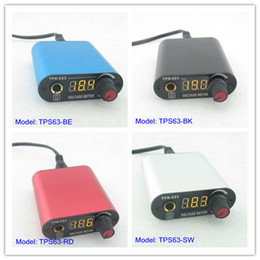 Wholesale Mini LED Tattoo Power Supply With Only One Socket For Foot Pedal Clip Cord Supply TPS63 Series