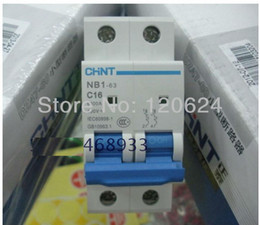 Wholesale security protection CHINT MCB NB1 P mini miniature circuit breaker switch motor protection asics