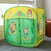 Tents Animes & Cartoons Cloth Sunnycat children tent Russian cartoon children play house tents outdoor tent toy children's for gift