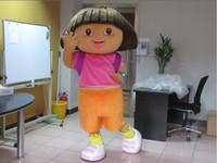 Mascot Costumes dora mascot - High quality D Dora Mascot Costume Fancy Dress Suit your Halloween Outfit