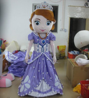 Mascot Costumes Unisex Free Size Hot sale new design adult mascot costume princess sofia adult sofia the first mascot costume