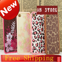 For Apple iPhone Plastic Case 2014 New Cute Cartton Flower & Leopard Print Pattern Case For iPhone 4 4s High Quality Plastic For iPhone4 4s Free Shipping