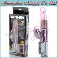 Wholesale Maggiq Love Gift Wriggle Vibrators Multi Speed Vibration and Rotation Rabbit Vibrator Adult Sex Toys For Women