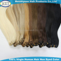 Wholesale Outre Remy Hair weaves inch Premiun Hair Extensions remy hair extensions b color hair weaves
