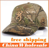 Wholesale HOT sale bionic camouflage hunting fishing cap baseball cap Pure cotton hat free size Men and women suits