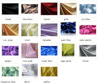 Wholesale 100 pure mulberry silk pillowcases mm with many colors standard size cm