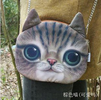 Wholesale Cheap Cat Style Shoulder Bag Chain Stripe Micro Fiber High Quality Printing colors Mix B8