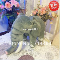 Teddy Bear plush elephant - 30 cm high quality hot selling Europe and cute elephant Plush elephant Plush toy doll Children s Gifts