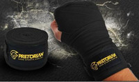 Wholesale 2014 New Pretorian Muay Thai Bandage Mma Fighting Bandages Boxing Bandage m Black Red Blue