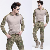 Cheap Camping & Hiking military pants Best 70% polyester and 30% cotton Anti_Shrink military trousers
