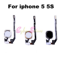 For Apple iPhone apple botton - For iphone S Original New Replacement Flex Cable Home Botton Return Key Ribbon Cable Parts For iphone S