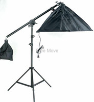 Wholesale Photography Props Photography Studio Light Dome Cross Arm cm Single Lamp Softbox Boom Arm Stand m lighthouse