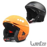 Unisex Black L(59-60CM) Top Quality Skiing Snow Skateboard Freeride Winter Sport Helmet Headgear Adult Men Women PC EPS Windproof Protective Gear Black