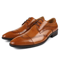 Wholesale Plus Size In Color New Genuine Leather Formal Brand Man Italian Oxford Sneakers Men s Dress Shoes GL947