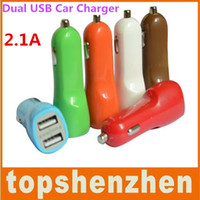 Cheap 2.1A Dual Port USB Car Charger For Iphone 5 5c 5s 2.1A Dual USB Car Charger Power Adapter For iphone 4 5 6 samsung galaxy S5 S6 LG G3 G4 M8