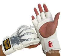 Protective Gear ufc gloves - Promotion Mma Gloves Muay Thai Gloves Wrestling Boxing Glove Ufc Type Open Palm Gloves Sanda Punching Sandbag Fist Protection