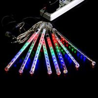 led meteor rain light - 20cm Meteor Shower Rain Tubes LED Light For Christmas Wedding Garden Tree Decoration Lamp