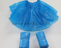 Wholesale Disposable PE CPE shoe cover oversleeve apron gown Non woven face mask paper mask etc Direct sales with factory price