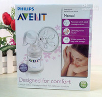Wholesale NEW Retail Infant feeding Breast Feeding AVENT Manual Breast Pumps ml storage BPA FREE SCF31020