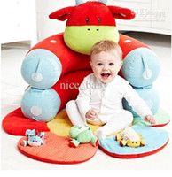 Wholesale ELC Baby Beanbag Portable dawdler sofa sofa Baby cradle bed Detachable Crib sofa play mat pad fleeces warm bed toy