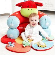 baby cradle pad - ELC Baby Beanbag Portable dawdler sofa sofa Baby cradle bed Detachable Crib sofa play mat pad fleeces warm bed toy