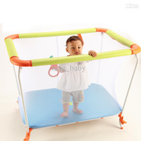 Wholesale Babyway Multifunctional Baby Toddler Fence Game Bed Folding