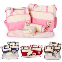 Print produce bags - new Diagonal package Multifunctional Mummy Diaper Bag Package To Be Produced Pregnant Women Baby Bags