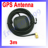 Wholesale GPS Antenna with Two Amplification Car DVD Navigation GPS Active Antenna m Meters SMA Interface FZ0391