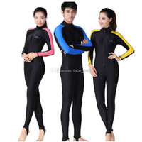 Wholesale Diving suit Swimming full bodysuit Swimsuit Swimwear One Pieces Men Women Wetsuits Dive Surfing Wetsuit