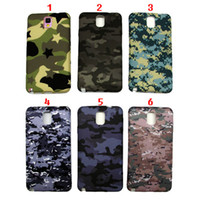 Wholesale New fashion Camouflage cell phone shell for Samsung NOTE2 NOTE3 I8552 S3 S4 S5 Sote Silicone Fabric phone Cases