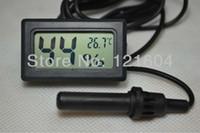 Wholesale Digital Thermometer amp Hygrometer Hygro temperature Probe for Reptiles Incubators